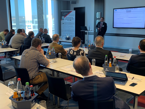 "Prof Dr. Marcus Hudec zum Thema ""KI"" im Audi-Forum Neckarsulm"